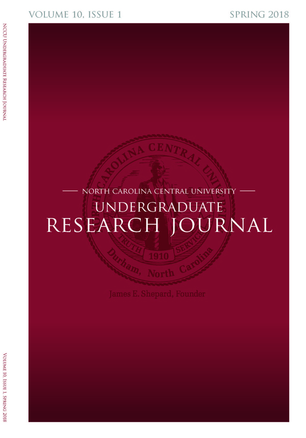 NCCU Undergraduate Research Journal